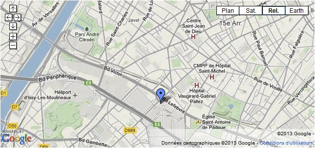 Aire informatique for Porte de versailles plan
